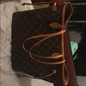 USED AUTHENTIC LV neverfull MM.